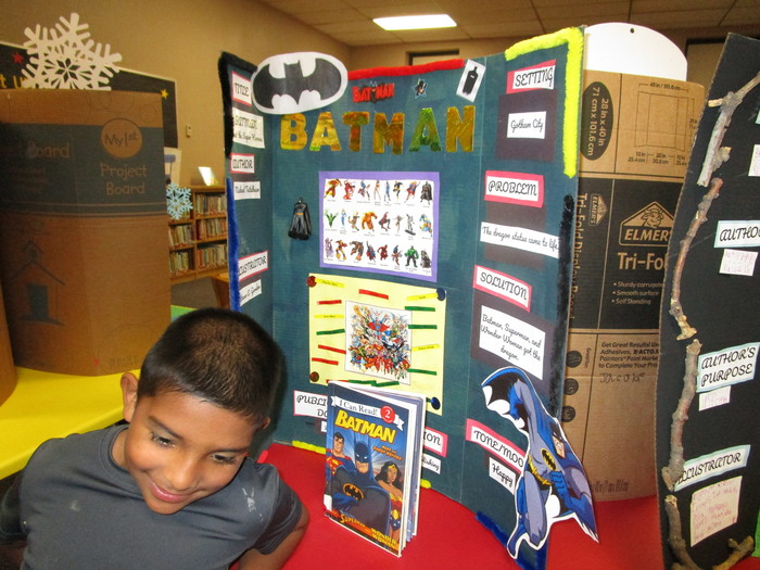 First Annual Dillman Elementary Reading Fair