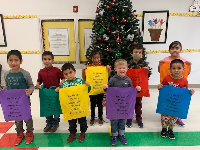 perfect attendance winners 12-18-20