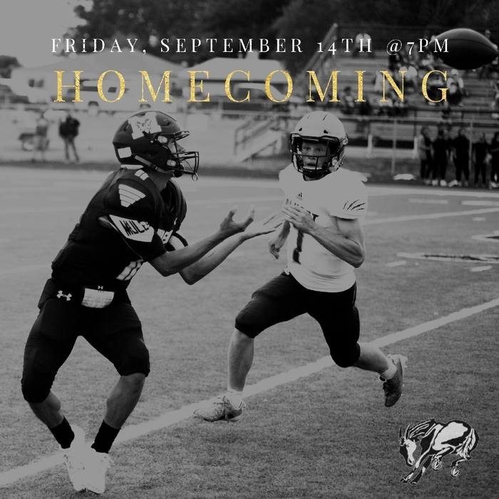 Homecoming is THIS FRIDAY!