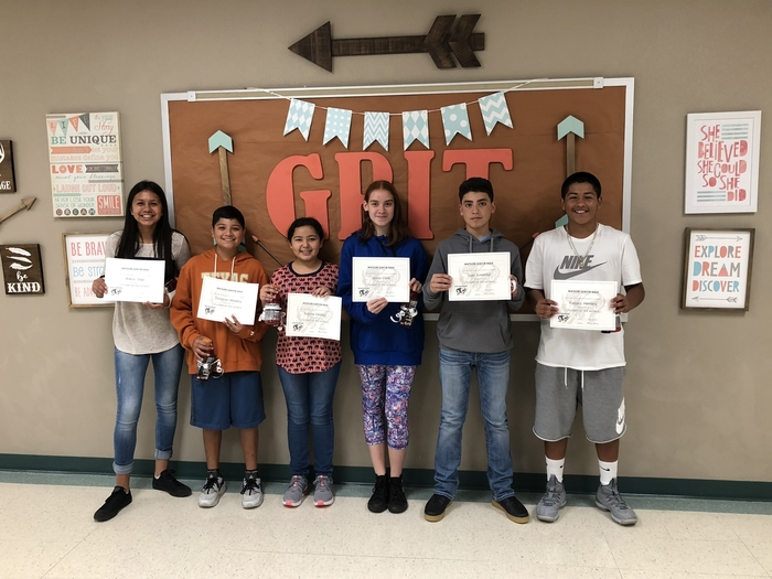 Watson JH September Students of the Month
