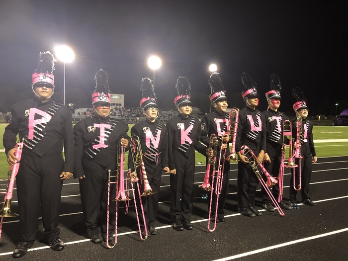 Trombones pinked out