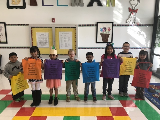 This is our perfect attendance winners for the 2nd six weeks.  Great job kids!!!!!!!!!!!!
