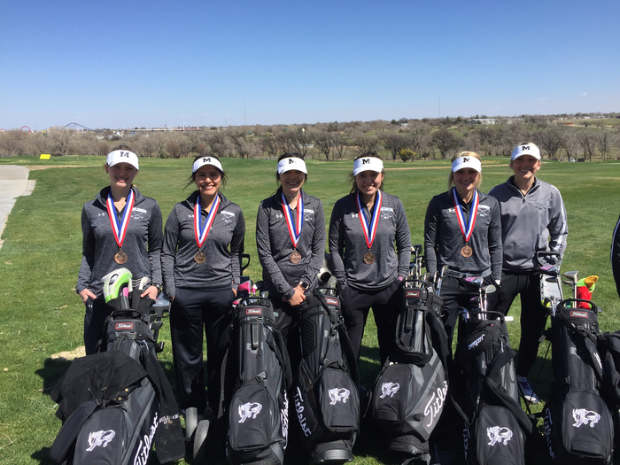 Ladies 3rd at district.