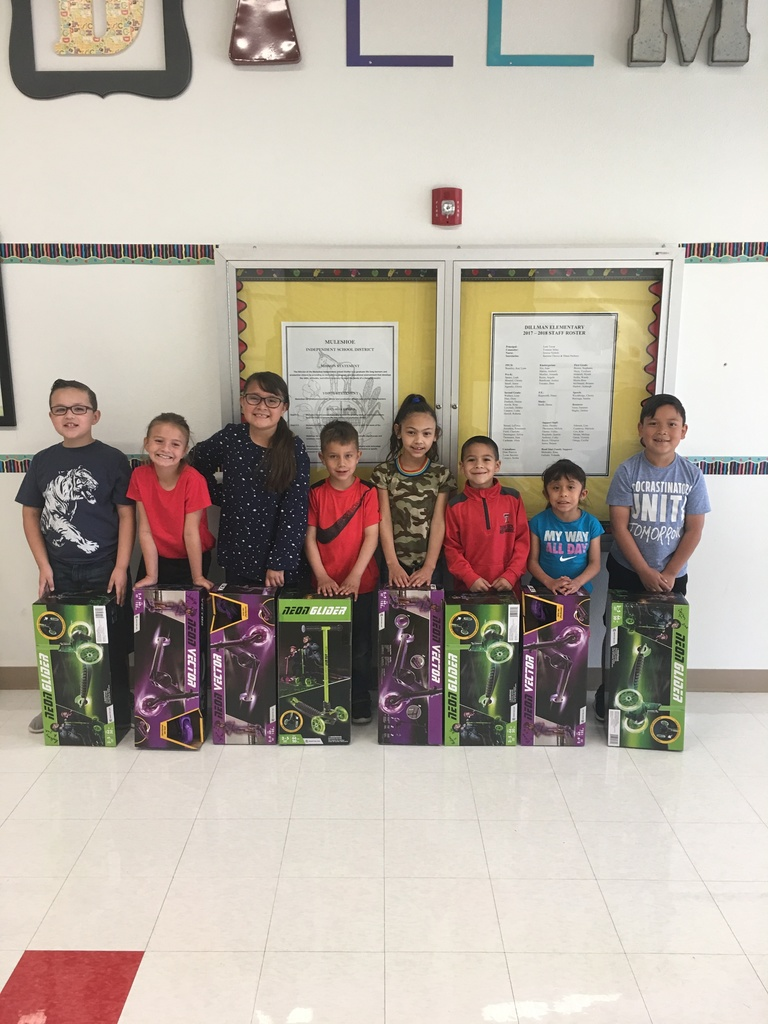 Our Yearly Attendance Prize Winners at Dillman